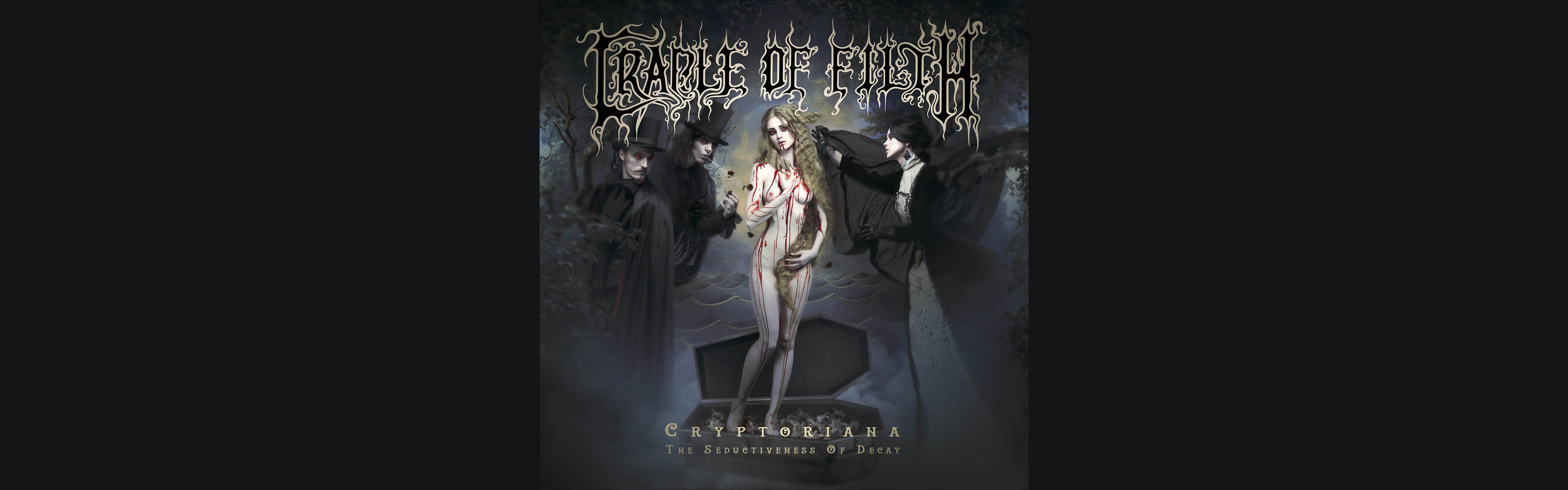 CRADLE OF FILTH + SPECIAL GUEST MOONSPELL