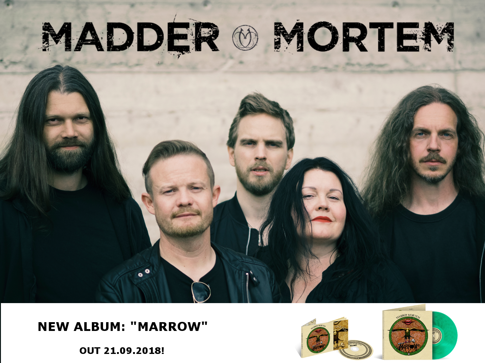 MADDER MORTEM - RELEASEPARTY «MARROW»