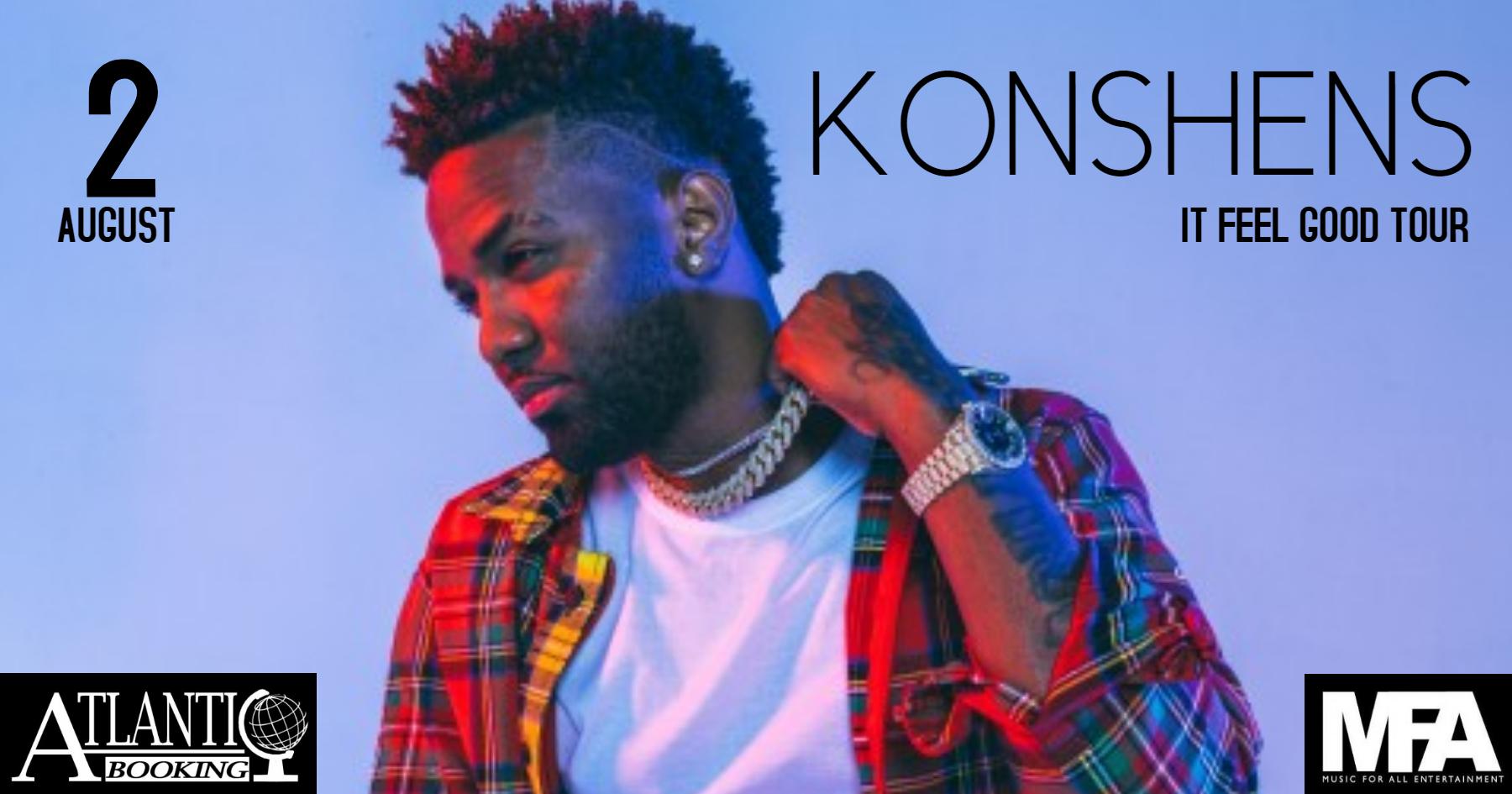 Konshens // It Feel Good Tour // OSLO