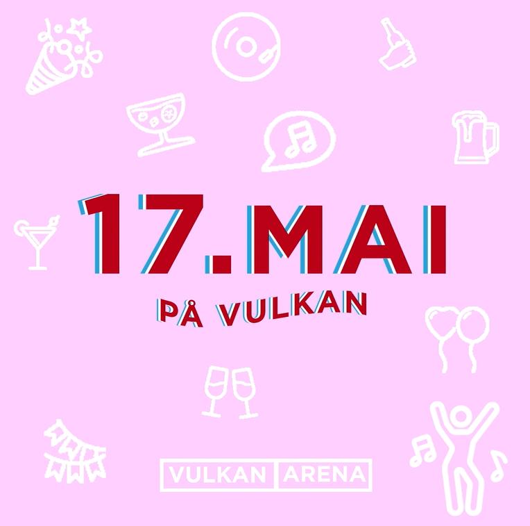 17. MAI PÅ VULKAN